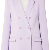 Tibi - Double-breasted crepe blazer