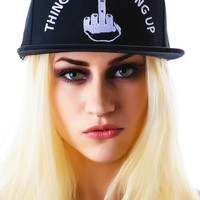 UNIF Things Are Looking Up Hat Black One