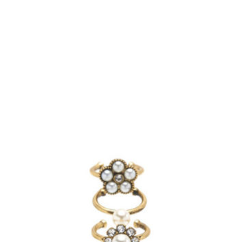 Cabochon Midi Ring Set - Marc Jacobs