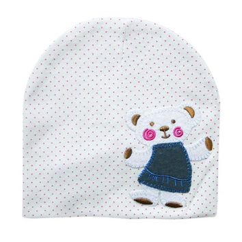 Newborn Crochet Baby beanie Cute Autumn Hat Girl Boy Cap Infant Winter Bear Cotton Cartoon Hat CY1