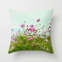 I Choose Magic Throw Pillow by RDelean
