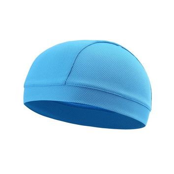 Sports Hat Cap trendy  Lesov Unisex Quick Drying Mesh Cap Beanie Hat Breathable Outdoor  Men Women Summer Riding Climbing Windproof Cap New KO_16_1