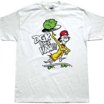 KAYO DGK GOES HAM Men's T-Shirt in White (DT-228)