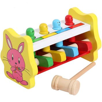 Wooden Baby Toys Puzzles Wood