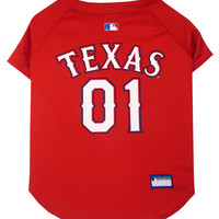 Texas Rangers MLB Pet Apparel
