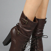 The Selma V Boot in Brown : *Sole Boutique : Karmaloop.com - Global Concrete Culture