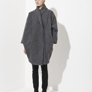 Xiong Coat, Anthracite - Reality Studio - Table of Contents - Portland, Oregon | TABLE OF CONTENTS
