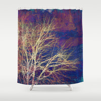 strange days Shower Curtain by Sylvia Cook Photography