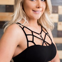 What I Like About You Bralette (Black)