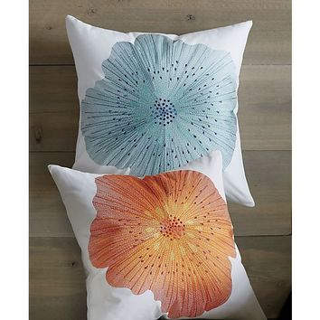 Bloom Hot Pillow with Feather-Down Insert.