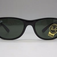 Cheap Ray Ban New Wayfarer RB2132 Black 901 Authentic Sunglasses RB 2132 Made In Italy