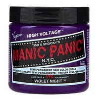 Manic Panic Semi-Permanent Color Cream Hair Color, Violet Night