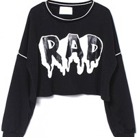 Chic Rad Cropped Sweatshirt