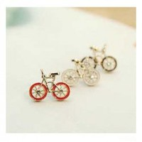 Stylish and Cute Bicycle Pattern Design Ear Pin For Female China Wholesale - Sammydress.com