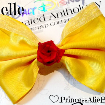 Disney Princess Belle Bow