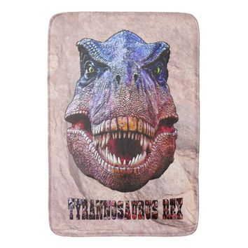 Tyrannosaurus Rex King Of Predators Bathroom Mat