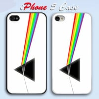 Pink Floyd White Custom iPhone 5 Case Cover