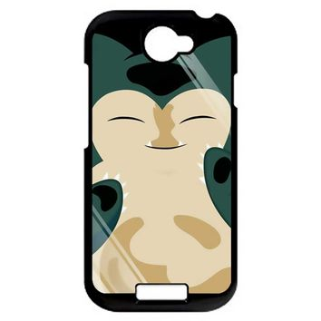 Pokemon Snorlax 2 HTC One S Case