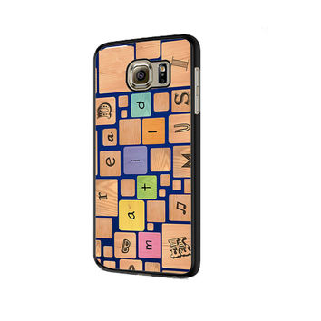 Collage Matilda Samsung Galaxy S6 | S6 Edge Cover Cases