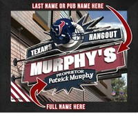 Houston Texans | Team Hangout Print | Personalized | Framed | NFL