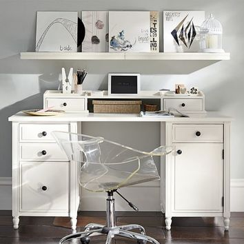 Genevieve Desk + Hutch