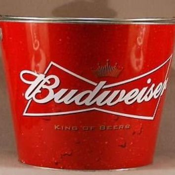 Budweiser King of Beers Metal Ice Bucket (King of Beers)