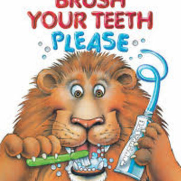 BRUSH YOUR TEETH, PLEASE: A POP UP BOOK