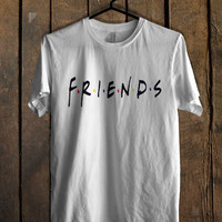 Friends American 90s TV Series Jennifer Aniston Logo For Mens T Shirt, Womens T Shirt ***
