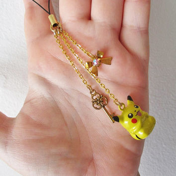 Pokemon Cell Phone Charm - Pikachu BELL - Pokemon Trainer Gear