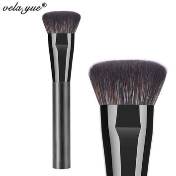 Professional Flat Contour Brush Premium Face Blending Highlighting Makeup Brush