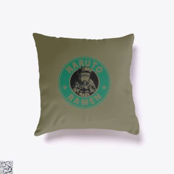 Naruto Ramen, Naruto Throw Pillow Cover