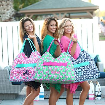 Monogram Beach Bags In Six Different Colors