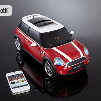 Mini Cooper Bluetooth Speaker @ Sharper Image