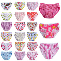 6pcs/pack 2016 Fashion New Baby Girls Underwear Cotton Panties For Girls Kids Short Briefs Children Underpants Z3