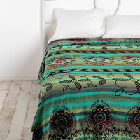 Overprinted Stripe Tapestry