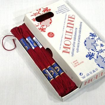 Mouline Embroidery Floss 100% Cotton