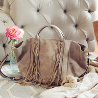 Mountain Spirit Fringe Tote