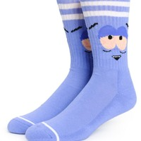 South Park x HUF Towelie Bloodshot Crew Socks