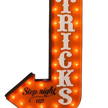 Tricks Marquee Sign
