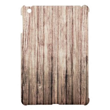 rustic weathered wood grain from zazzle ipad mini cases