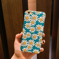 Cute Daisy Flower Case for iPhone