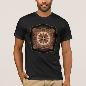 Men's Basic American Apparel Sacred Geometry T-Shirt