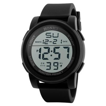 Analog LED Digital Military Army Sports Waterproof Wristwatch