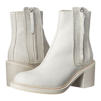 MM6 Maison Margiela Tassle Zip Whitewash Bootie