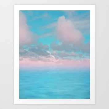 The Sea is Calm 03 Art Print by NaturalColors