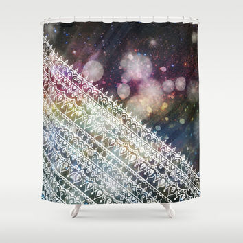 Gravitational Constant Shower Curtain by Jenndalyn | Society6