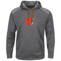 Majestic Cleveland Browns Armor Pullover Synthetic Fleece