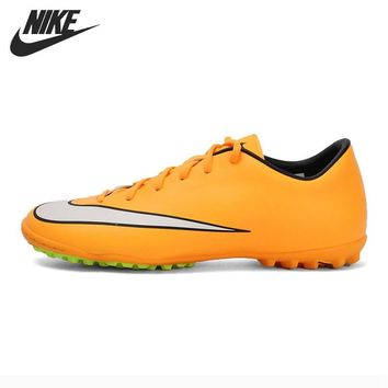Original New Arrival NIKE MERCURIAL VICTORY V TF Men's Soccer Shoes Football Sneake