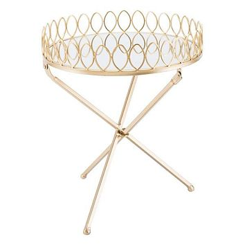 A10770 Tray Table Gold
