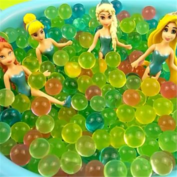 5000pcs Crystal Orbiz Growing Water Balls Water Beads Gel Balls for Swimming Pool Plays Potted Plants Decoration Wedding Gifts